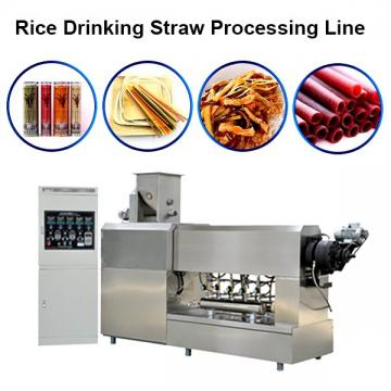 Full-featured drinking plastic straw making extruding machine