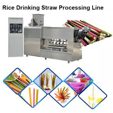 New Biodegradable Rice Straw Machine Edible Straw Machine Eatable Straw Machine