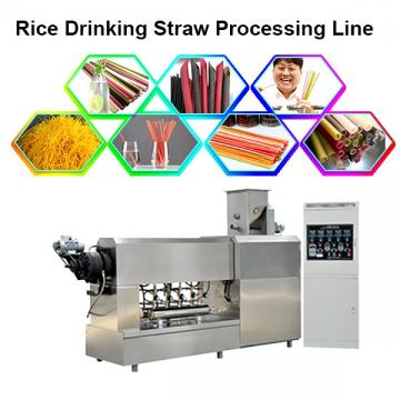 Edible Rice Straw Machine / Rice Drinking Straw Machine Machinery
