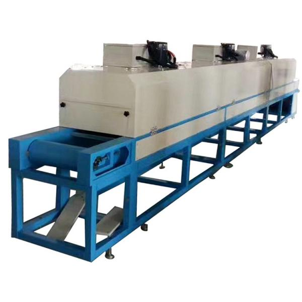 Industrial Food Drying Equipment Continuous Mesh Belt Seafood Air Dryer #3 image